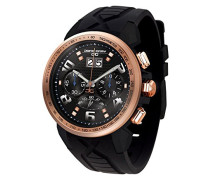 Herren-Armbanduhr Chronograph Quarz Kautschuk JG5600-22