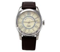 Herren-Armbanduhr MILLENNIUM - Classic Analog Automatik Leder 103.01.01