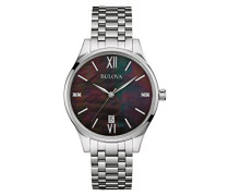 Damen-Armbanduhr Diamonds Analog Quarz Edelstahl 96S162