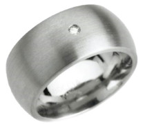Damen-Ring Titan 1 Brilliant 0,03 ct