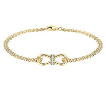 Armband Infinity Unendlichkeit Swarovski Kristalle 0210521614-18