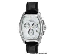 Herren-Armbanduhr Analog Quarz Leder T2M982
