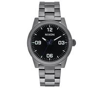 Nixon Damen-Armbanduhr Analog Quarz Edelstahl A9191531