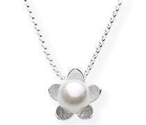 Damen- Anhänger Hildegard k. 925 Silber Perle weiß LD HK 32 PW