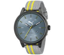 Puma Herren-Armbanduhr XL Cool Analog Quarz Plastik PU103641001