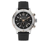Herren-Armbanduhr XL Chronograph Quarz Silikon A17654G