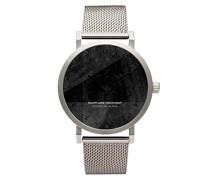 Unisex -Armbanduhr  Analog  Quarz Edelstahl 701