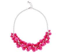 Halskette Dyanie rosa Perlen
