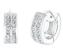 Damen Creole 925 Sterling Silber Swarovski Kristalle 0310922016