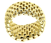 Damen-Ring 925 Sterling Silber gelbgold SR1502Y-M