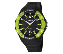 Herren-Armbanduhr Analog Quarz Plastik K5676/2