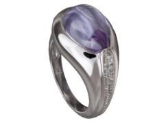 Damen-Ring Lavender Pear 925 SterlingSilber mit Zirkonia