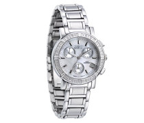Damen-Armbanduhr Quarz Chronograph 4718