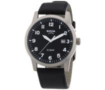 Herren-Armbanduhr Leder 597-03