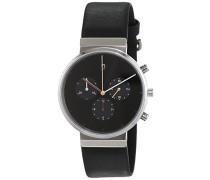 Herren-Armbanduhr Analog Quarz Leder ITEM NO. 603