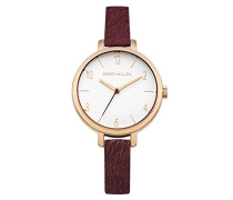 Karen Millen Damen-Armbanduhr Analog Quarz KM138VRG