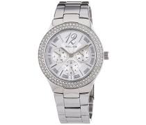 Damen-Armbanduhr GLITZ Analog Quarz Edelstahl P14306MS-04M
