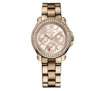 Damen-Armbanduhr Pedigree Analog Quarz Rotgold 1901106