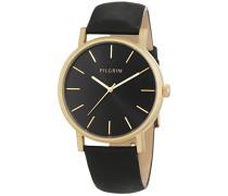 Damen-Armbanduhr Analog Quarz Leder 701522103