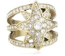 Dyrberg/Kern Damen-Ring Vergoldetes Metall Kristall Swarovski 336286