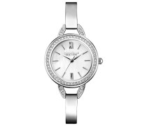 Caravelle New York Damen-Armbanduhr PERFECTLY PETITE Analog Quarz Edelstahl 43L166