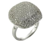 Damen-Ringe 925 Sterling Silber Zirkonia weiß 58 (18.5) 280270001-058