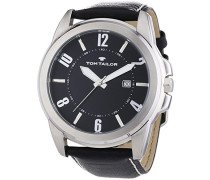Herren-Armbanduhr XL Analog Quarz Leder 5413401