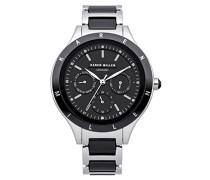 Karen Millen Damen-Armbanduhr Analog Quarz KM101BMX