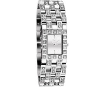 D & G–DW0743Damen-Armbanduhr 045J699Analog silber Armband Stahl Silber