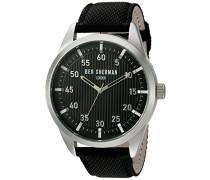 Ben Sherman Herren-Armbanduhr Portobello Professional Multi-Function Analog Quarz Leder WB028B
