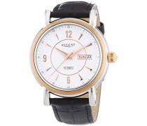 Regent Herren-Armbanduhr XL Analog Automatik Leder 11050076