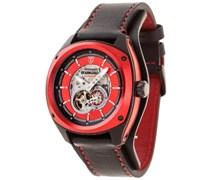 DETOMASO Herren-Armbanduhr Tanagro Analog Automatik DT2042-B