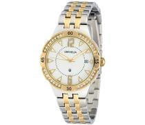 Orphelia Damen-Armbanduhr Analog Quarz Edelstahl OR53370812