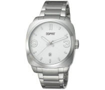 Damen-Armbanduhr Analog Quarz Edelstahl ES103611006