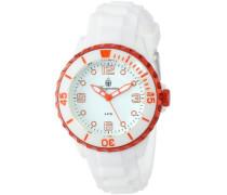 Burgmeister Damen-Armbanduhr XS Analog Quarz Silikon BM604-586G
