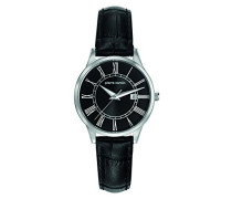 -Damen-Armbanduhr-PC901732F02, Schwarz/Schwarz