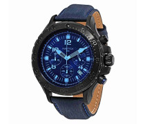 Nautica Herren-Armbanduhr Analog Quarz Textil NAI21008G