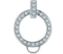 Rafaela Donata-Carrier Charm Sterling Silber Zirkonia weiß