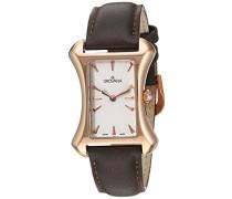 4422.1562 Women'schweizer Uhr Armbanduhr Analog Leder schwarz