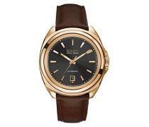 Herren-Armbanduhr Analog Automatik Leder 64B126