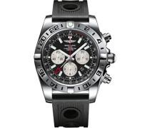 Herren-Armbanduhr Chronomat Chronograph Automatik Kautschuk AB0413B9/BD17/201S