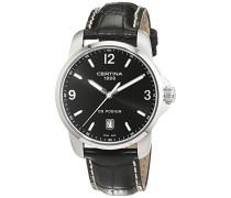 Certina Herren-Armbanduhr XL Analog Quarz Leder C001.410.16.057.01