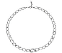 Damen-Halsband 925 Sterling Silber rhodiniert Braid Glam Slim S.ESNL92258A420