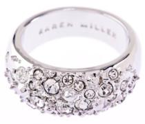 D for Diamond Damen-Ring Metall Glaskristall 54 (17.2) KMJ399-01-02M