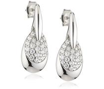 Damen-Ohrhnger 925 Sterling Silber Zirkonia wei ZO-5141