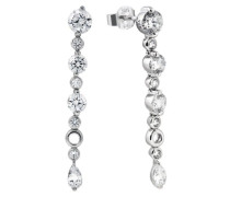Diamonfire Damen-Ohrhänger 925 Sterling Silber Zirkonia Bridal Linie weiß 62/1333/1/082