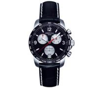 Certina Herren-Armbanduhr XL Chronograph Quarz Leder C001.417.16.057.01