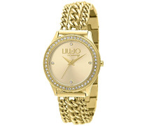 Damen-Armbanduhr Atena Analog Quarz Edelstahl beschichtet LJW-TLJ934