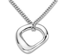 Damen-Anhänger 925 Sterling Silber Halskette mit Anhänger 45 cm 925 Silber rhodiniert