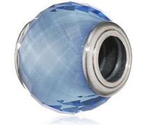 Damen-Bead Petite Facetten irisierendes 925 Silber Quarz blau - 791499SBQ